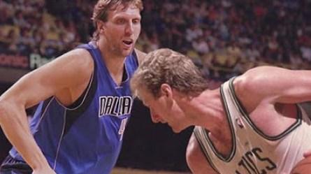 Larry Bird sobre Dirk Nowitzki