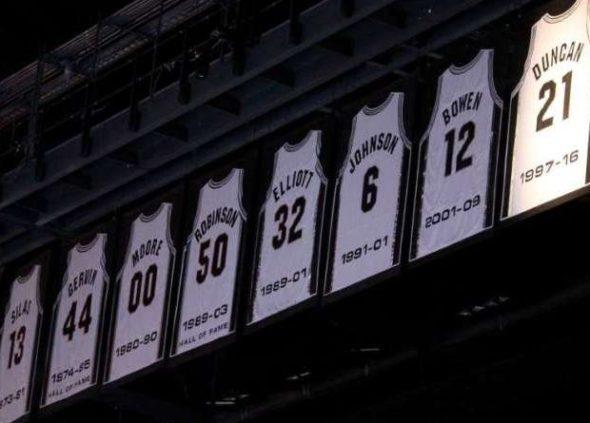 ba3d4b96ce9 Las Camisetas retiradas en la historia de los equipos de la NBA (IV ...