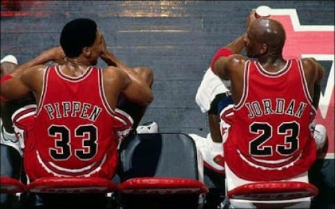 Jordan y Pippen