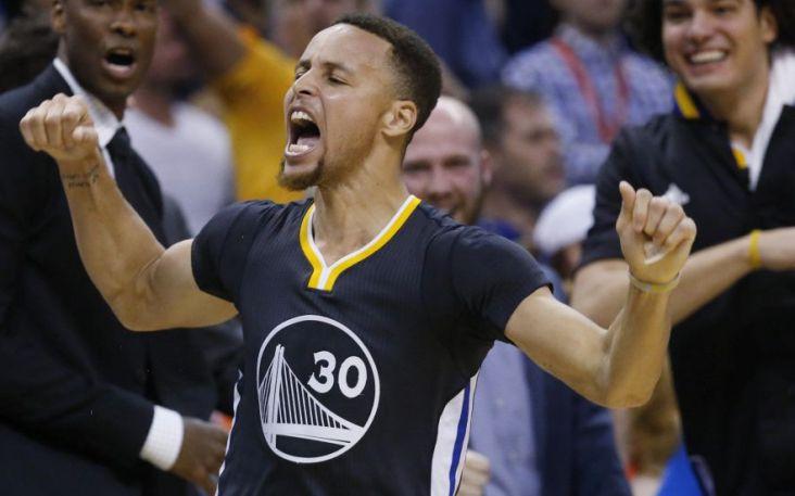 Curry más triples anotados en un solo partido