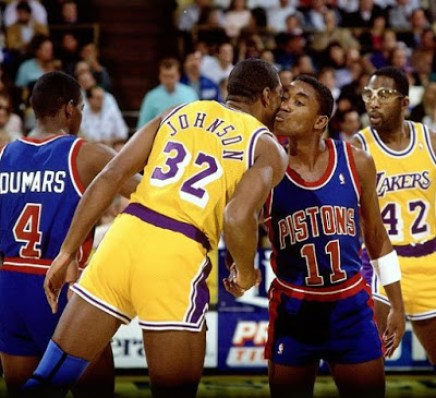 Magic e Isiah Thomas