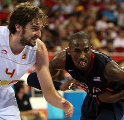 El record de la selección española con el Team USA