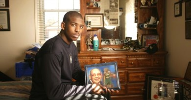 El homenaje de Chris Paul a Papa Chilly
