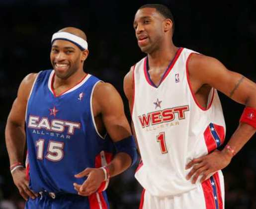 VINCE CARTER Y TRACY MCGRADY