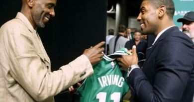 Kyrie y Drederick IrVing