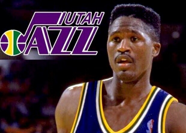 Dominique Wilkins Utah Jazz