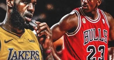 Michael Jordan y Lebron James 2