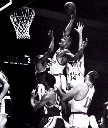 Chamberlain vs Lakers