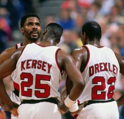 Kersey, Drexler y Buck Williams
