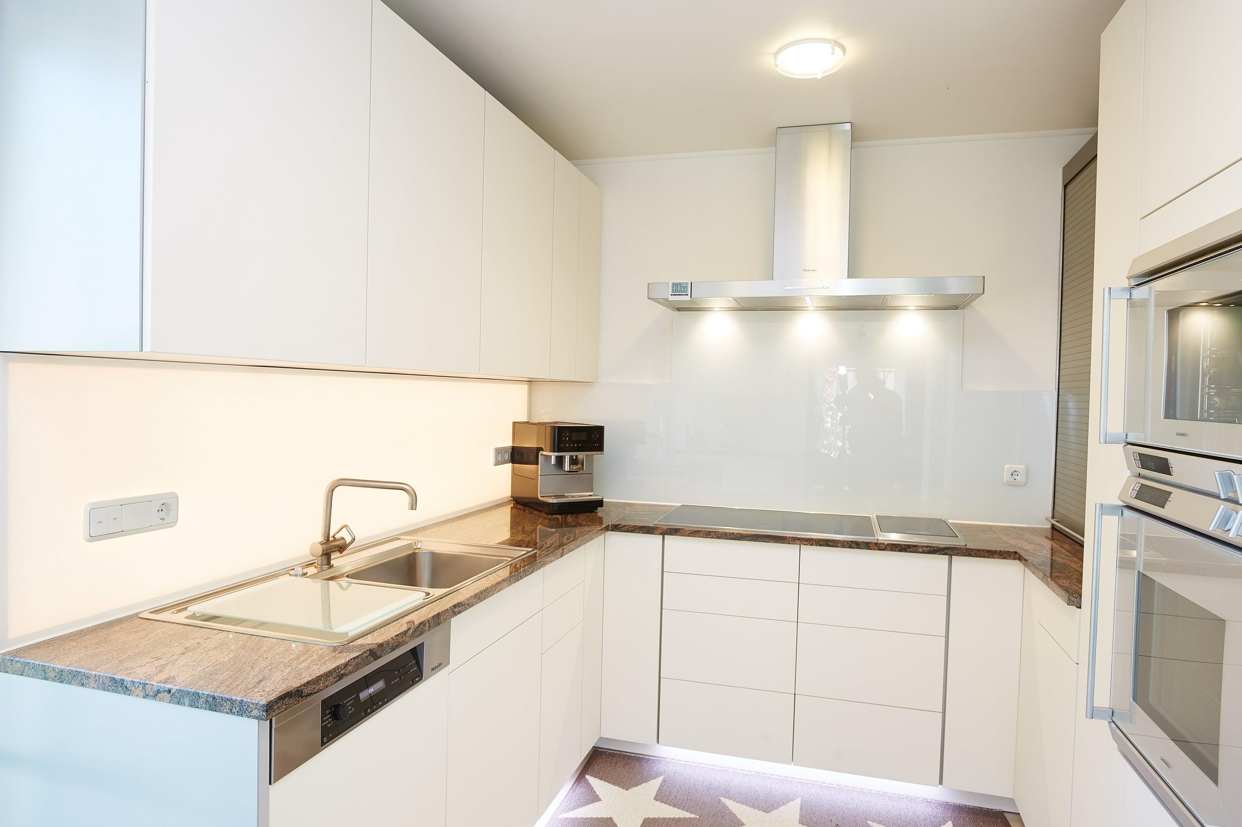 Küche Komplett Mit Einbau  Walk-in Dusche »duschabtrennung