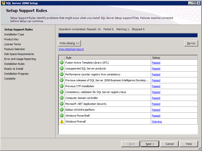 How to Install SQL Server 2008 Management Studio Express for TFS basic (4/6)