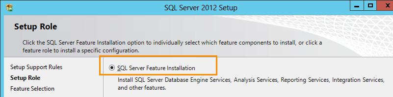 SQL Server 2012 Installation for Team Foundation Server (3/6)