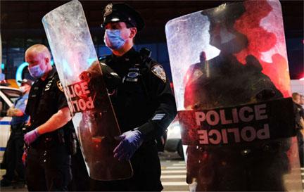 POLICE UNION RACIST