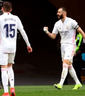 Real Madrid rescató el empate ante el Atlético de Madrid