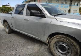 Militares y estatales aseguran vehículo blindado con droga