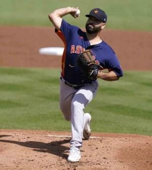 Astros sin ocho pitchers