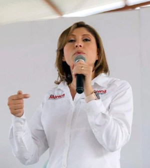 INE no quitaría candidatura a Mónica Rangel