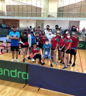 Quedó integrada la delegación potosina de tenis de mesa para los juegos nacionales Conade 2021