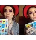 Bruja Cat-tarot-loteria mexicana
