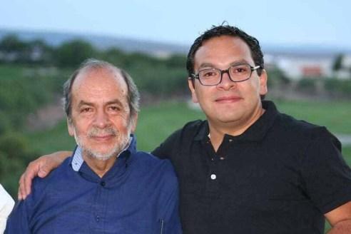 P-Jorge Mascareñas con su papá.