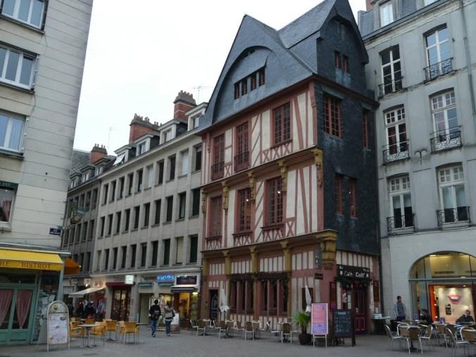 Nantes, place du change
