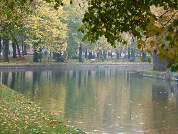 Canal_de_la_Deûle_sur_L'Esplanade_de_Lille Photo Tanruz