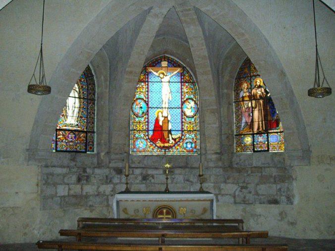 crypte - chapelle sous le chevet - photo Harmonia Amanda