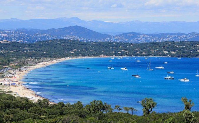 Plage de Pampelonne-St-Tropez