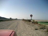 Esas buenas carreteras de Villaricos!!!