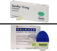 Tamiflu (Oseltamivir) y Relenza (Zanamivir)