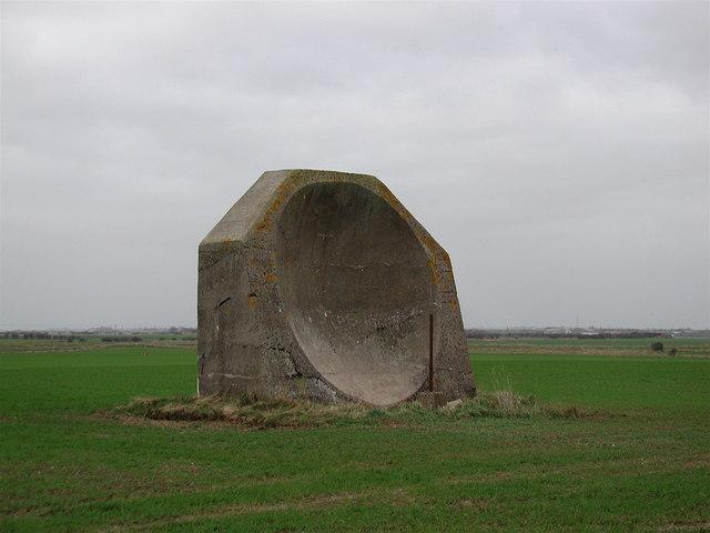 Probablemente construido en 1916 y utilizado en la Primera Guerra Mundial en Kilnsea, Yorkshire del Este | Paul Glazzard @ geograph