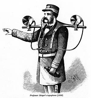 Topophone del profesor A. Mayer (1880) | jeanbaptisteparis @ Flickr