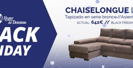 Chaiselongue Black Firday