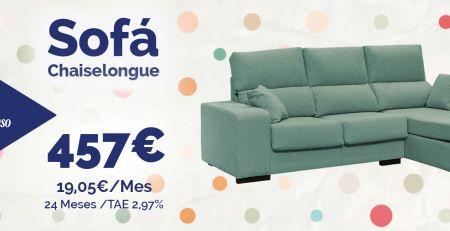 Sofá chaiselongue Almería