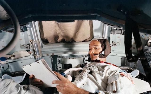 Michael Collins, el gladiador espacial