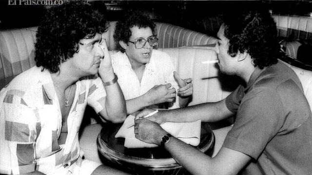 El día que Héctor Lavoe se fugó de una fiesta de Pablo Escobar