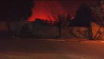 Un incendio golpeó a San Francisco del Monte de Oro