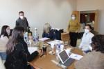 El equipo de la Dirección Nacional de Talento Humano y Conocimiento trabaja en San Luis