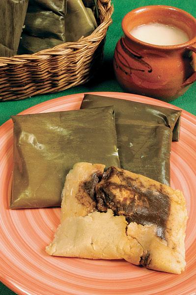 Tamales de mole  El Horno de Lucas