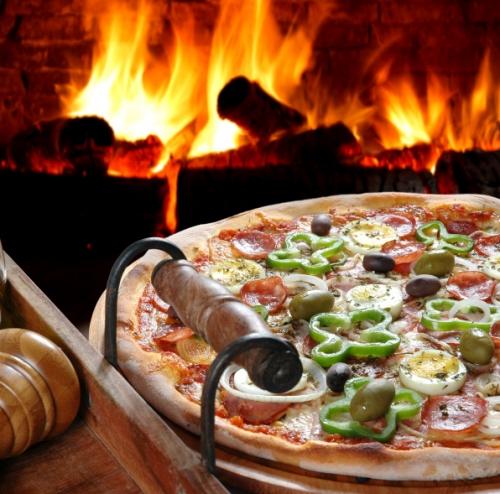 Pizza baja en caloras  El Horno de Lucas
