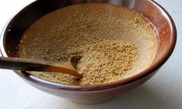 Gomasio, un nutritivo sustituto de la Sal