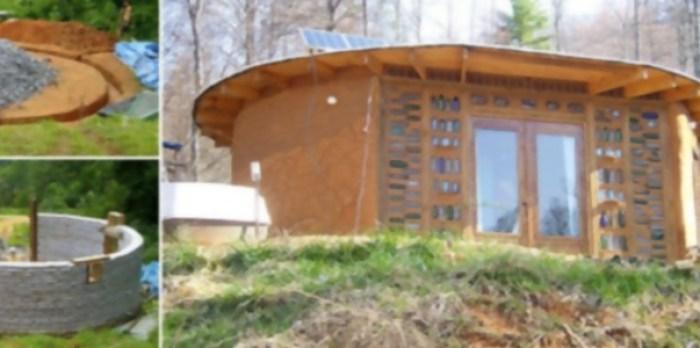 Earthbag, aprende a hacer una casa con sacos de tierra