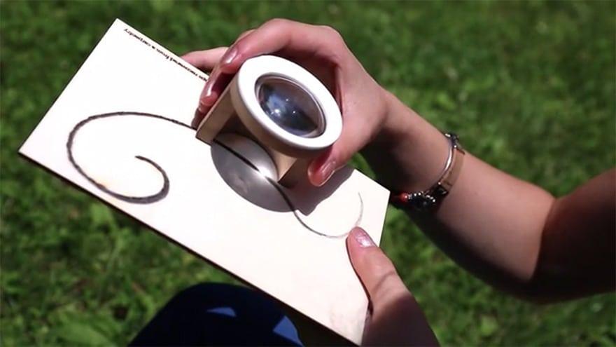 Esta nueva herramienta te permite pintar con el Sol