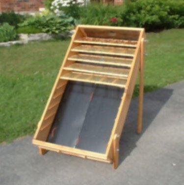 Cómo construir un deshidratador solar