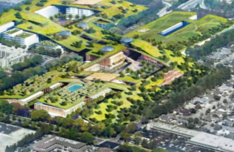 """California tendrá el """"techo verde"""" más grande del mundo"""
