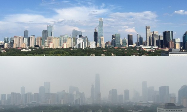 Beijing consigue limpiar su contaminado cielo gris con esta simple medida