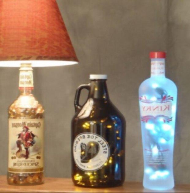 reutilizar-objetos-antiguos-lamparas-botellas
