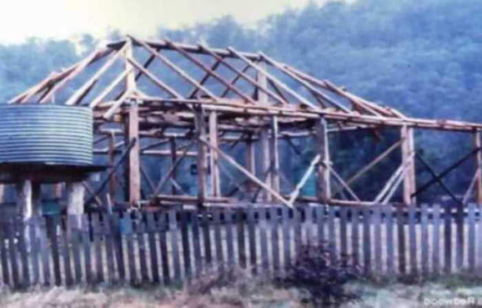 Jill Redwood construcción de su casa