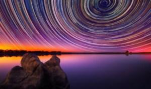 Startrails: dinámicos mandalas creados por el movimiento de estrellas