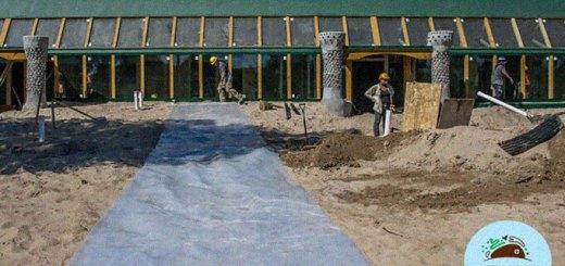 La escuela sustentable de Jaugueriberry está a días de abrir sus puertas.